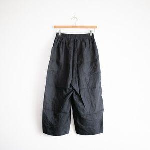Pants - Linen Wide-Legged Pants